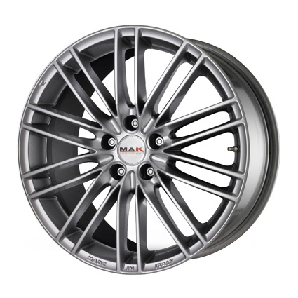 Колесный диск MAK Rapide 7x16 4x100 ET35  D72 matt blackred